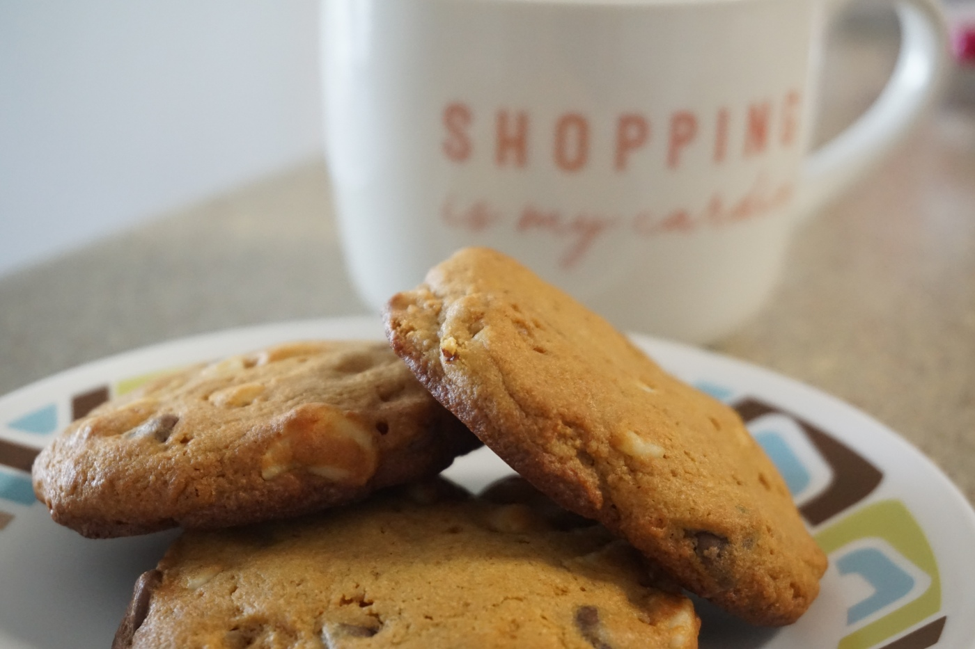 Whole Wheat Macadamia Nuts Chocolate Chip Cookies