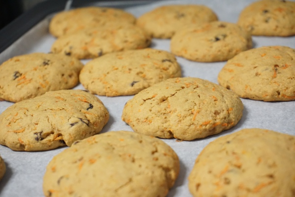 Whole Wheat And Carrot Cookies