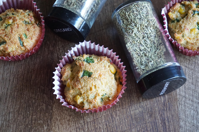 semolina veggie muffins