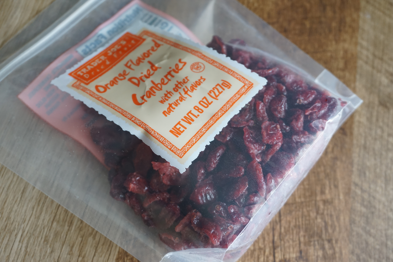 Trader Joe's Orange Flavored Dried Cranberries