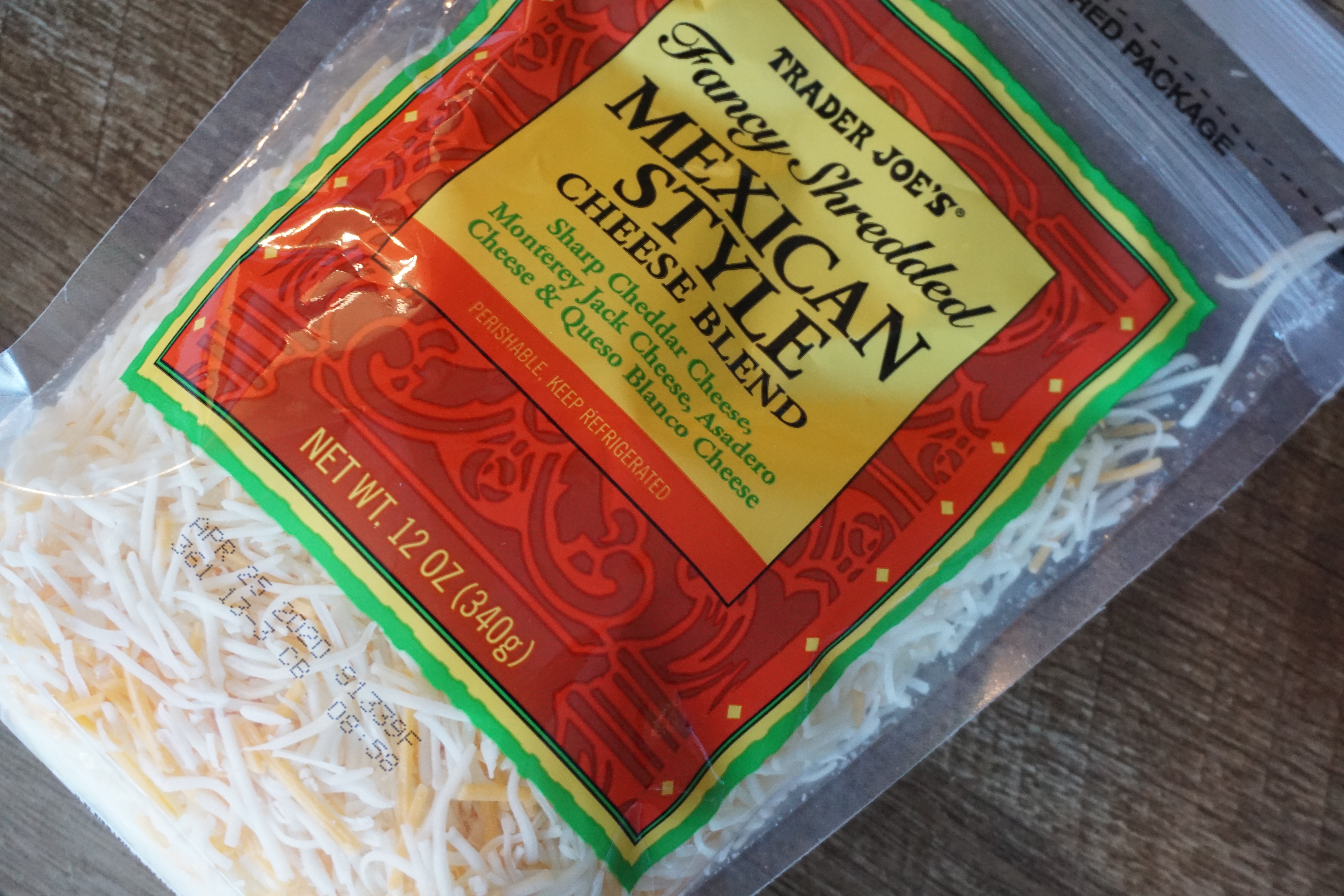 Trader Joe's Mexican Style Cheese Blend