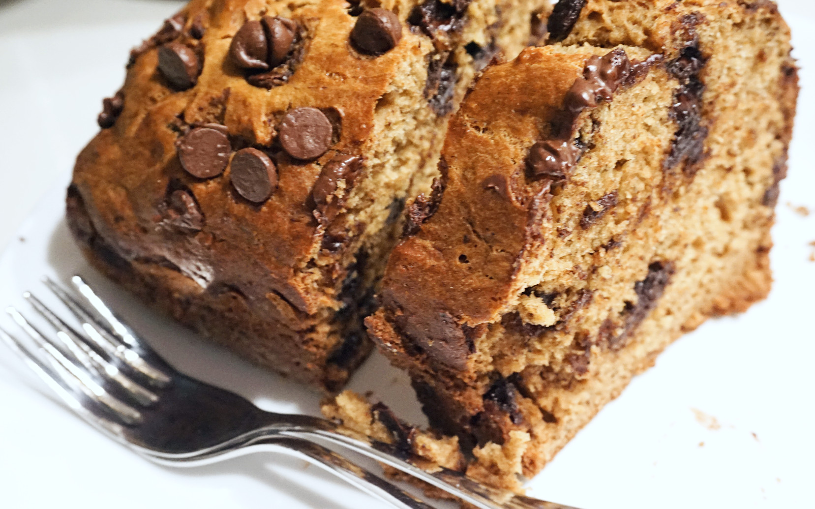 Banana Choco Chip WWF Bread