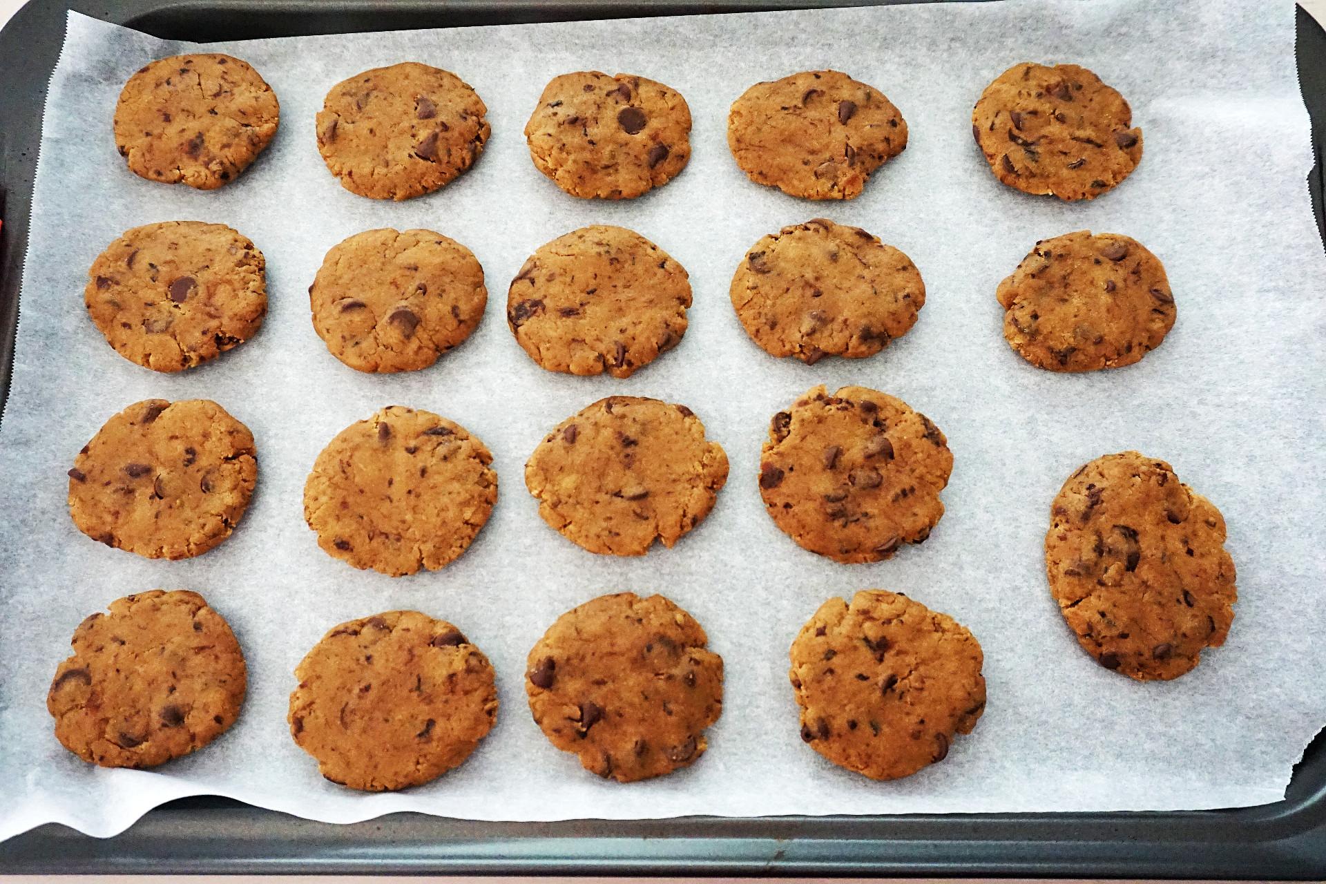 cookies on sheet